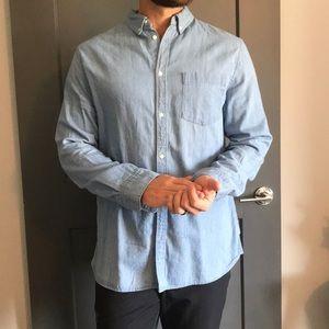 H&M Denim Button Up Long Sleeve